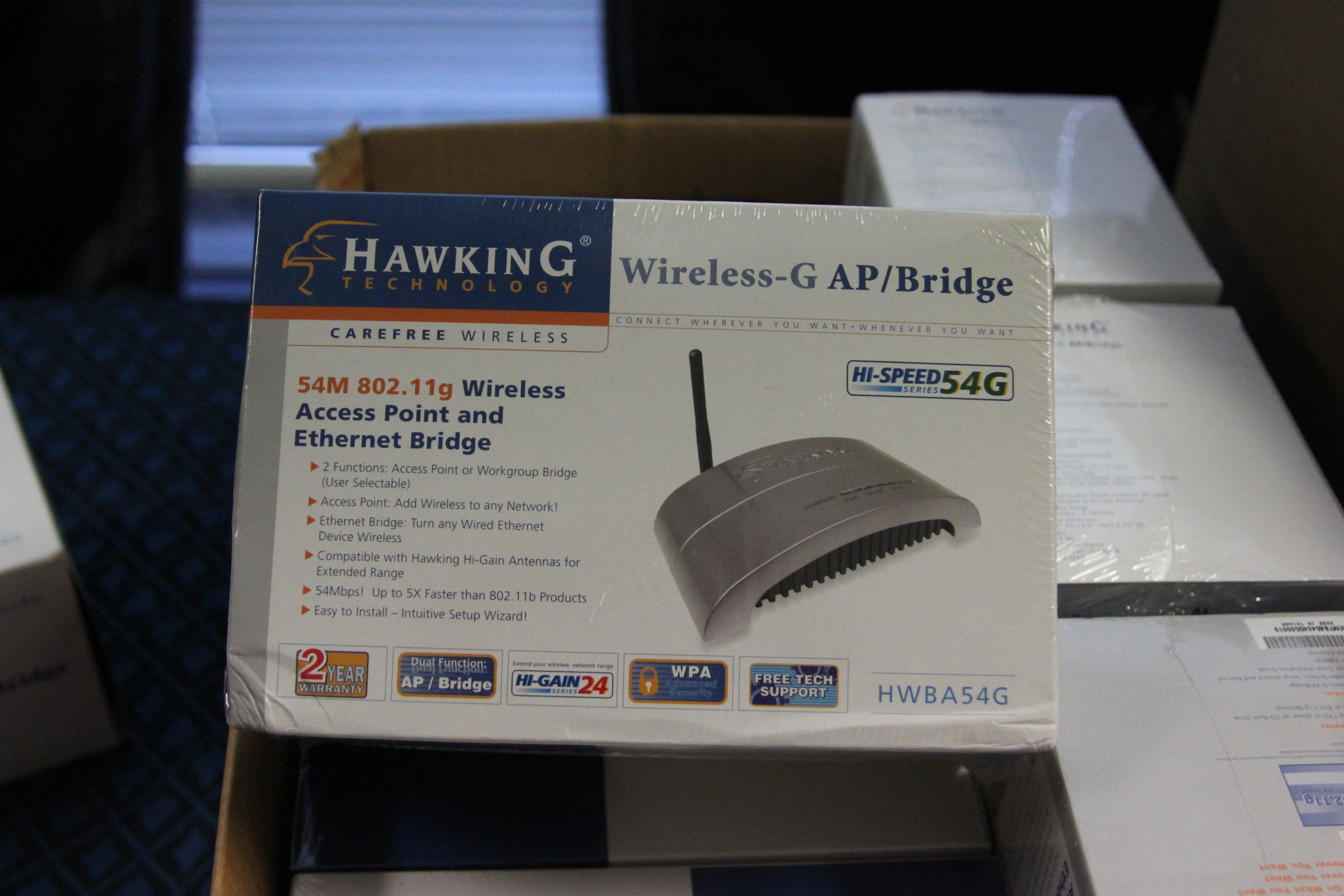 Hawking Wireless G AP Bridge HWBA54g